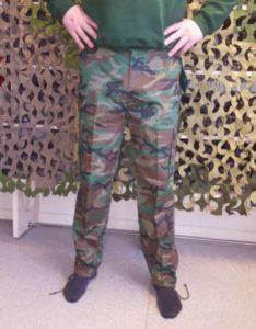 Bukse m-65 woodand Camo