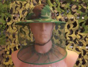 Hatt med myggnett